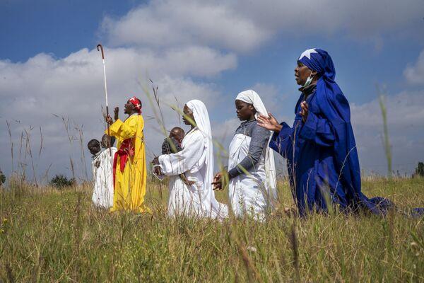 Celebrazioni della Pasqua in Sudafrica, il 4 aprile 2021 - Sputnik Italia