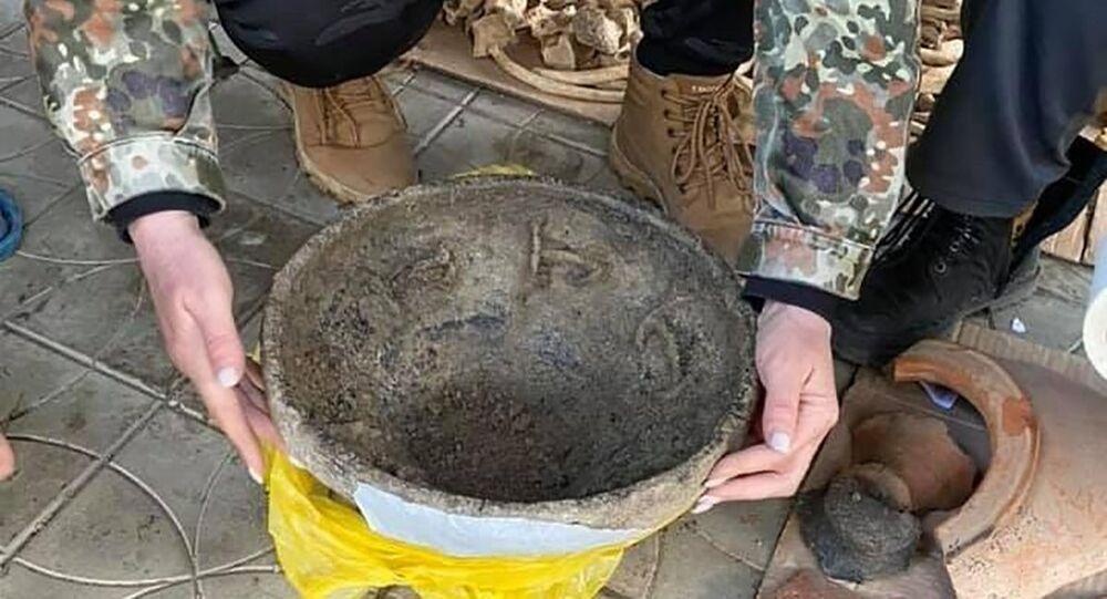Una ciotola di ceramica del V secolo d.C. è stata trovata in Russia meridionale