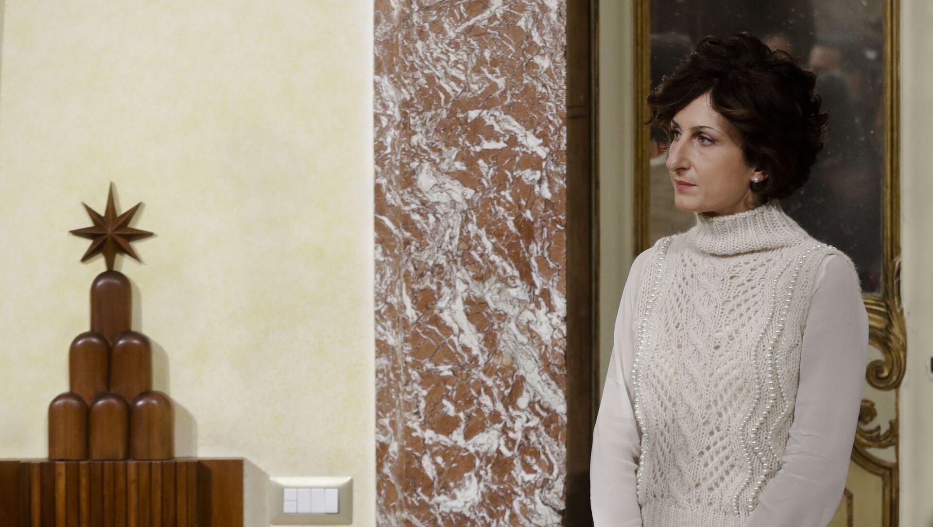Agnese Landini, la moglie di Matteo Renzi - Sputnik Italia, 1920, 06.04.2021
