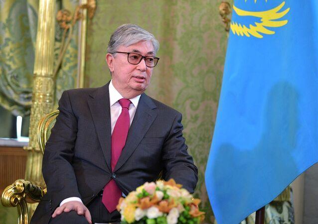Presidente del Kazakistan Kassim Tokayev