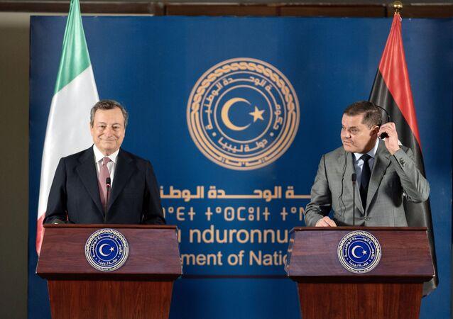 Le dichiarazioni congiunte del Presidente del Consiglio, Mario Draghi, e del Primo Ministro Abdelhamid Dabaiba, al termine del loro incontro