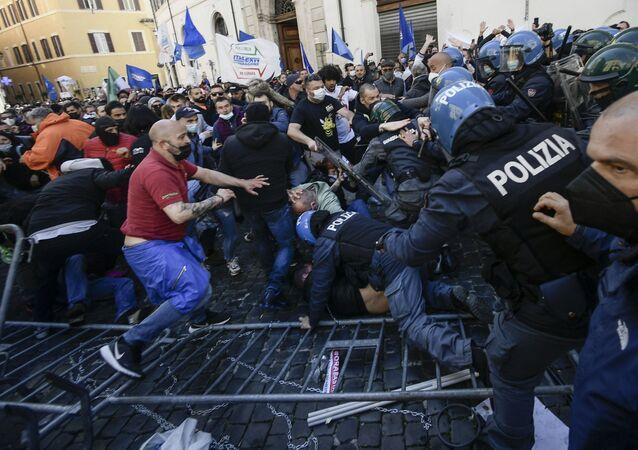 Manifestazioni a Roma, il 6 aprile del 2021