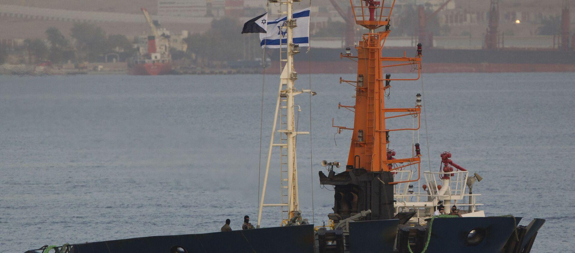 Commando israeliani su nave nel Mar Rosso - Sputnik Italia, 1920, 07.04.2021