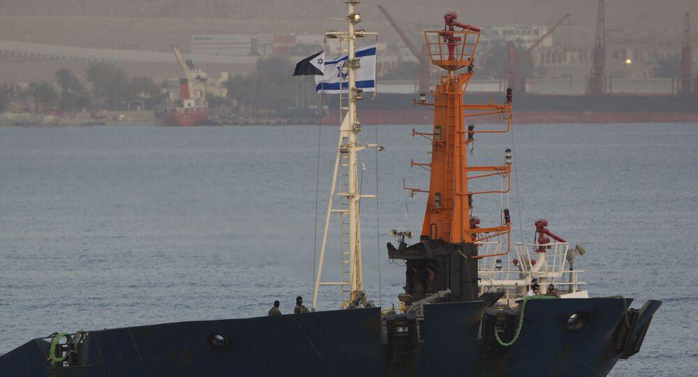 Commando israeliani su nave nel Mar Rosso