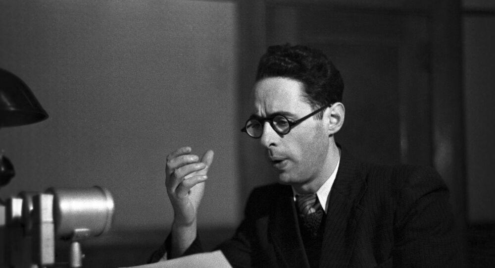 Il leggendario speaker radiotelevisivo sovietico Yuri Levitan
