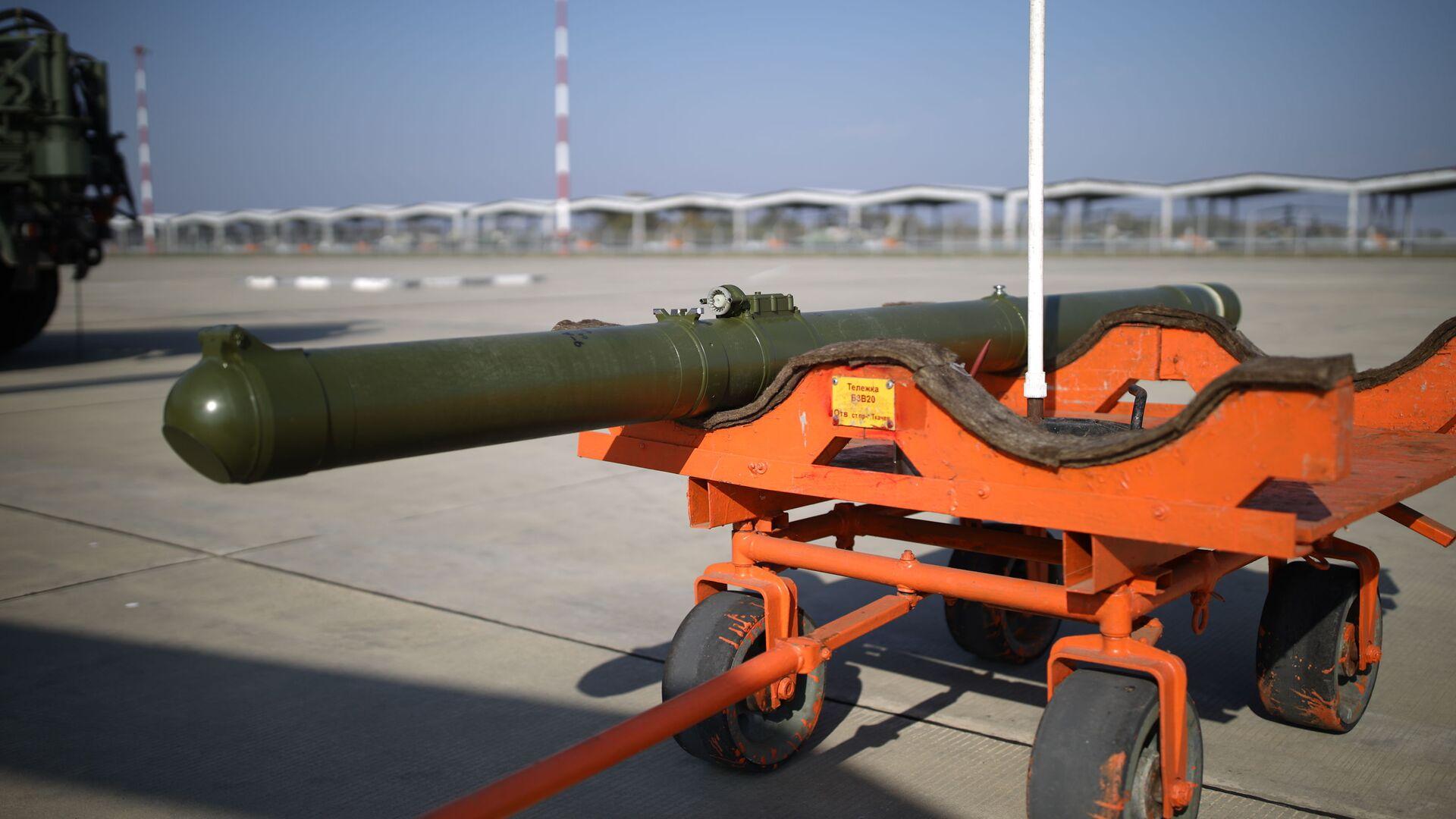 Batterie missilistiche anticarro Vikhr-1 - Sputnik Italia, 1920, 22.08.2021