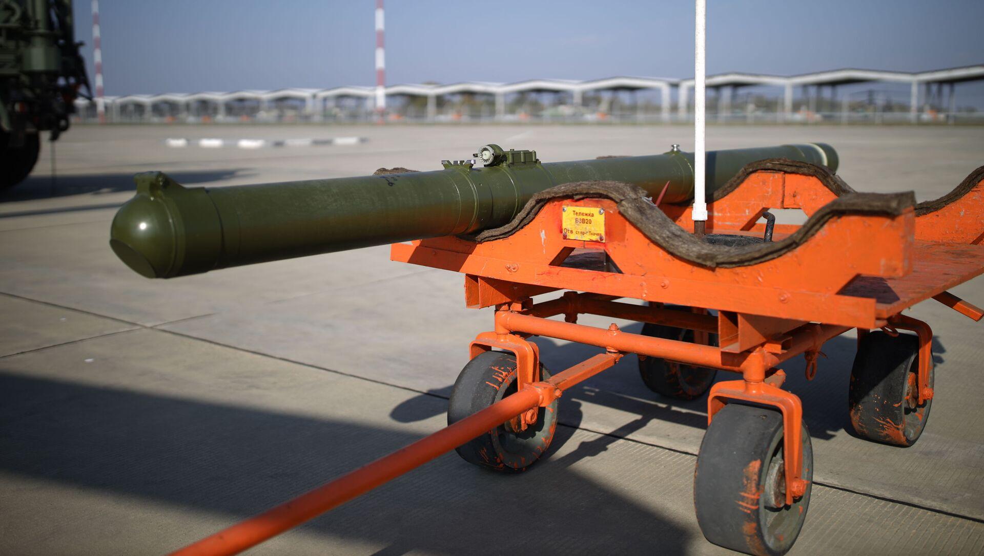 Batterie missilistiche anticarro Vikhr-1 - Sputnik Italia, 1920, 08.04.2021