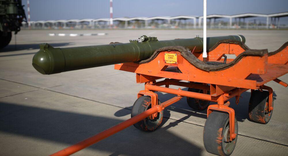 Batterie missilistiche anticarro Vikhr-1