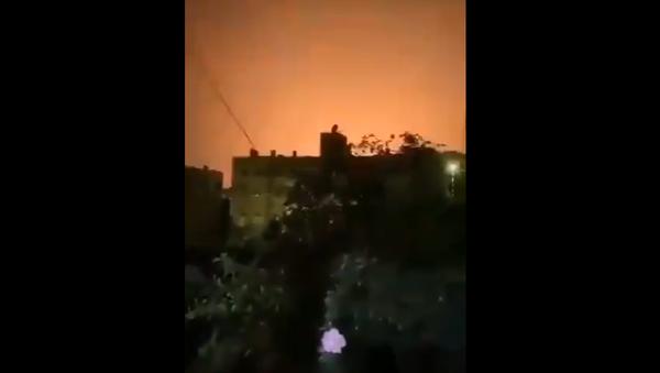 Raid su Damasco - Sputnik Italia