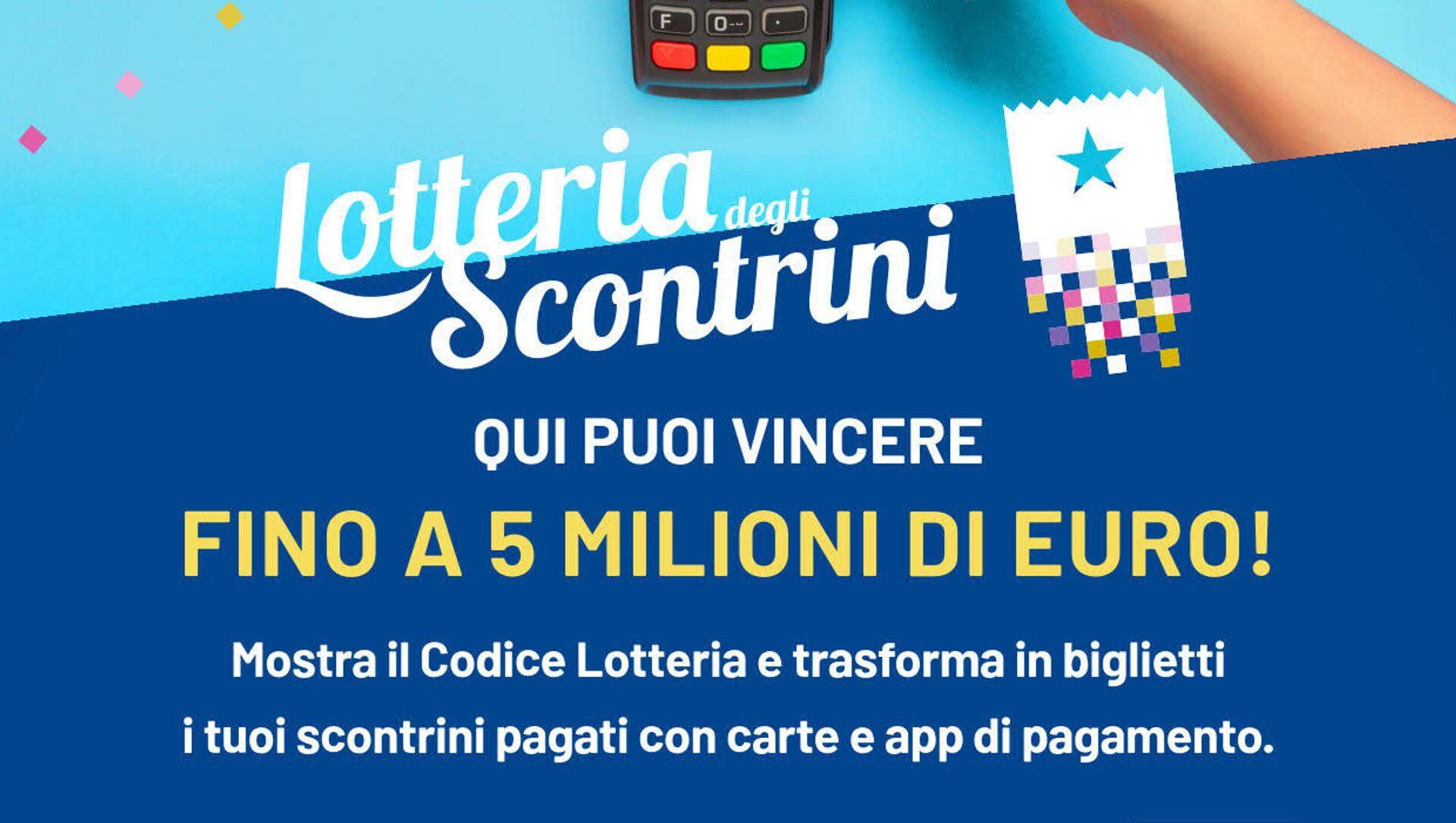 Lotteria degli scontrini - Sputnik Italia, 1920, 08.04.2021