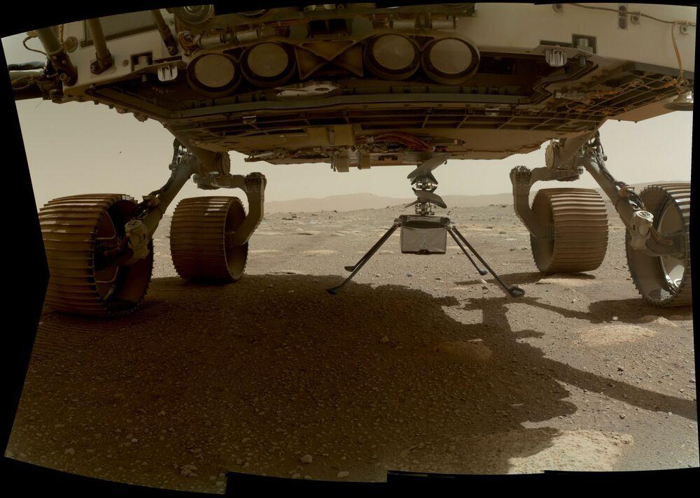 Nelle settimane successive, verrà azionato il braccio robotico e Perseverance partirà per una prima breve missione esplorativa