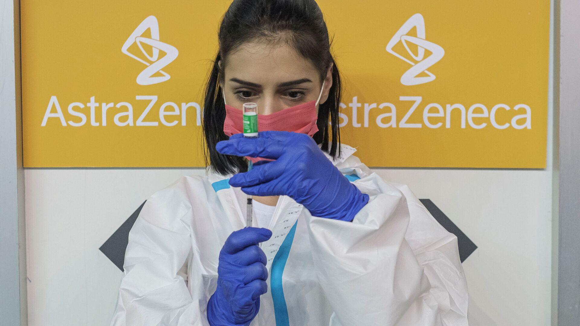Il vaccino AstraZeneca - Sputnik Italia, 1920, 11.04.2021