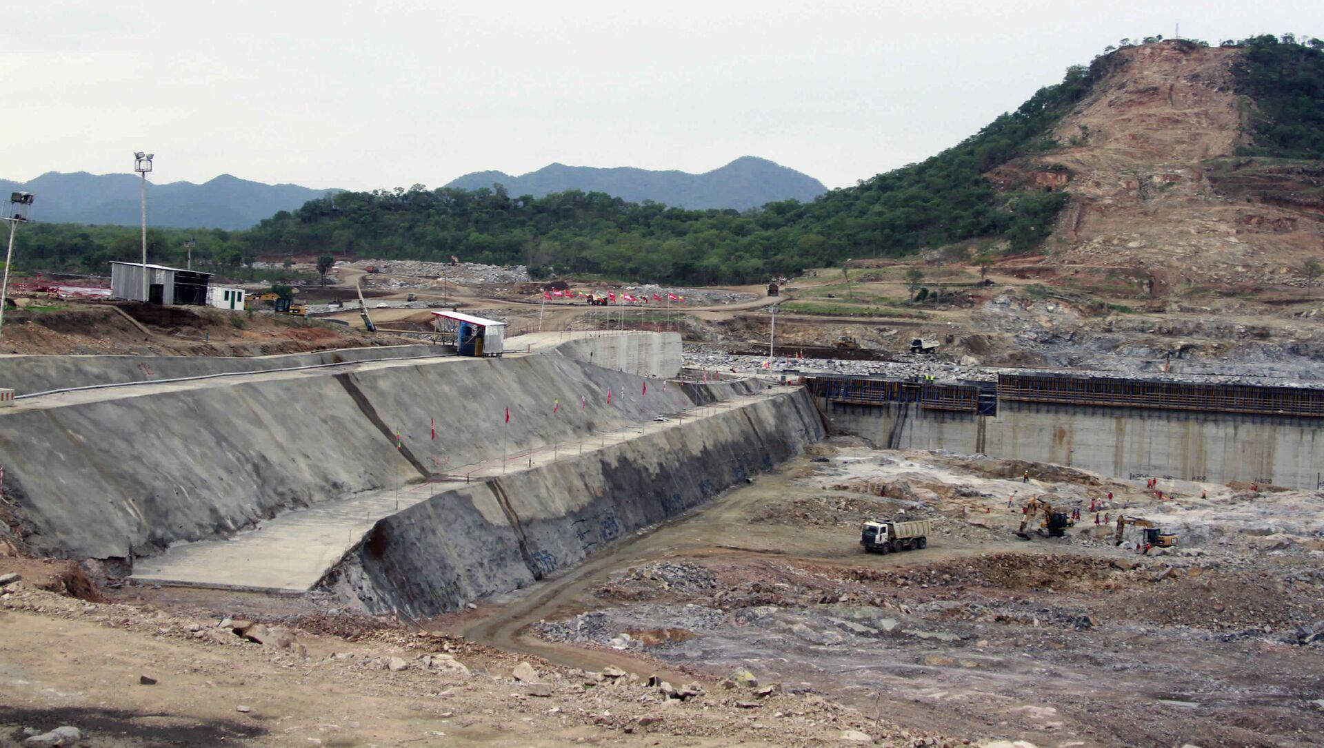 Costruzione della Grande Diga del Millennio (Grand Ethiopian Renaissance Dam) in Etiopia - Sputnik Italia, 1920, 18.05.2021