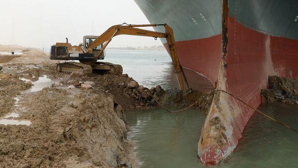 Canale di Suez bloccato - Sputnik Italia