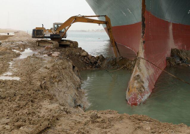 Canale di Suez bloccato