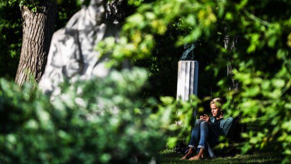 Relax in un parco - Sputnik Italia