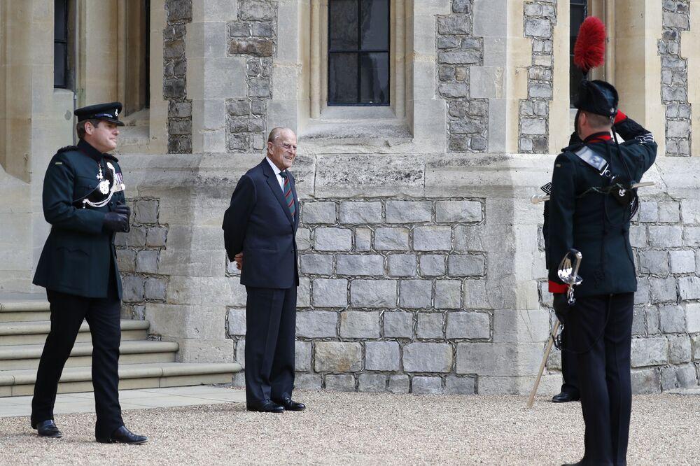 Il principe Filippo al Castello di Windsor, 2020