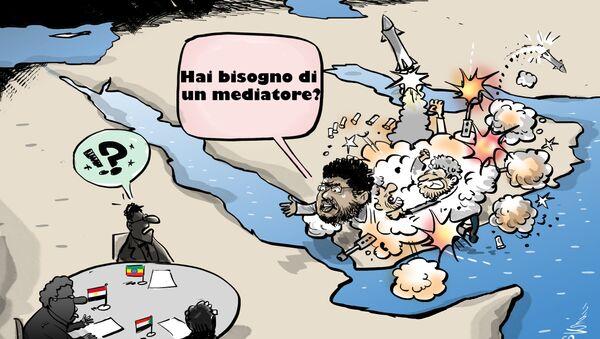 Venerdì il leader degli houthi Mohammed Ali al-Houthi ha offerto la sua mediazione tra Etiopia, Sudan ed Egitto sul progetto della Grande Diga - Sputnik Italia