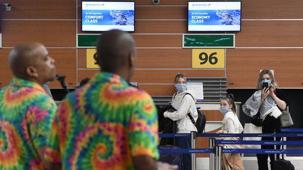 Turisti in partenza per le Seychelles - Sputnik Italia