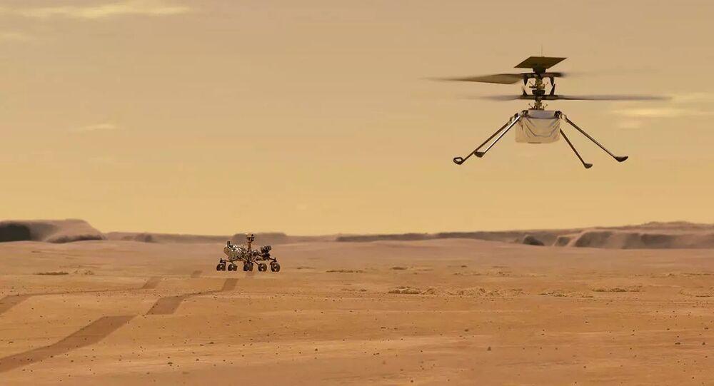 L'elicottero marsiano Ingenuity