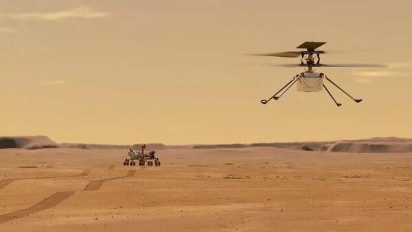 L'elicottero marsiano Ingenuity - Sputnik Italia