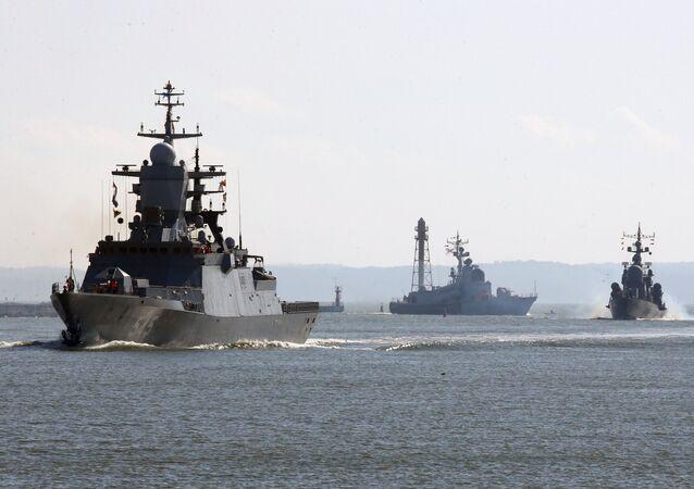 Navi della flotta del Baltico