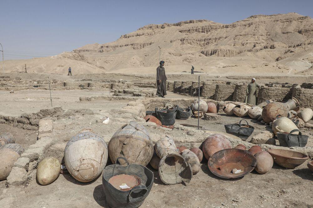 Gli scavi della Città d'oro perduta''