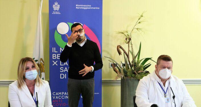 Conferenza stampa sulla situazione Covid a San Marino