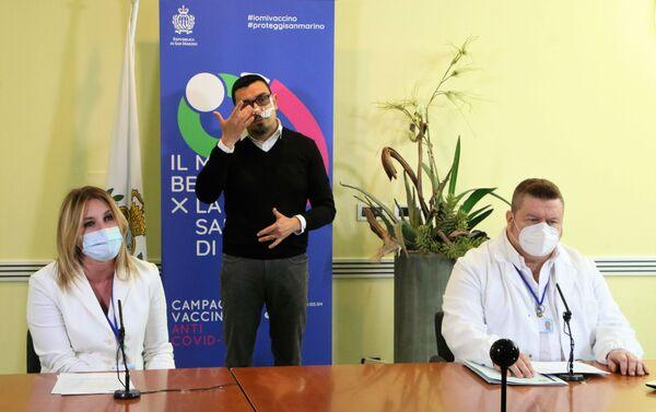 Conferenza stampa sulla situazione Covid a San Marino - Sputnik Italia