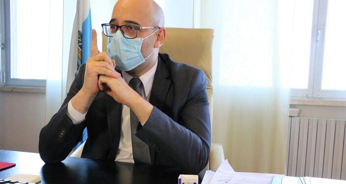 Roberto Ciavatta, Segretario di Stato per la Sanità