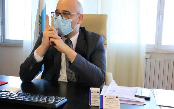 Roberto Ciavatta, Segretario di Stato per la Sanità - Sputnik Italia