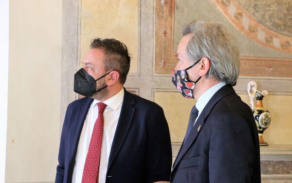 Luca Beccari, Segretario di Stato per gli Affari Esteri, Repubblica di San Marino - Sputnik Italia