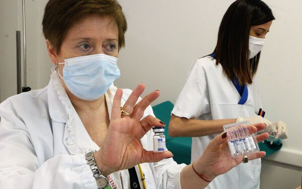 Ivonne Zoffoli, Direttore Ospedale di Stato - Sputnik Italia