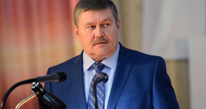 Il sindaco di Baikonur Konstantin Busygin
