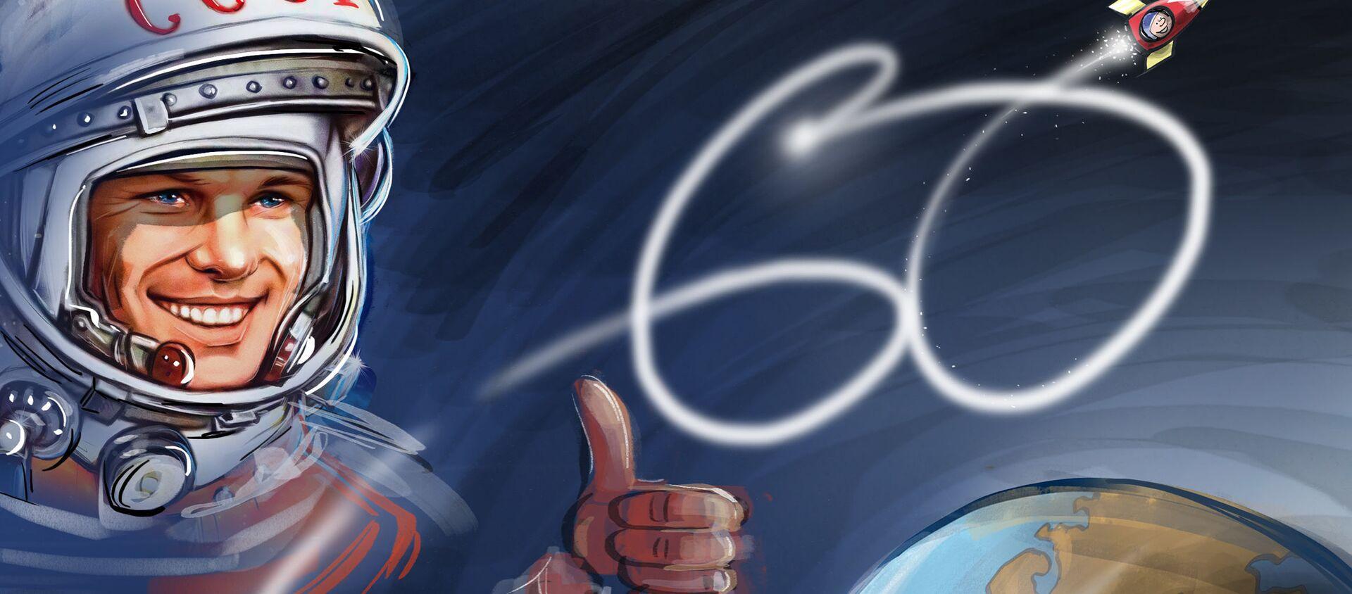 Yuri Gagarin, 60 anni fa il primo uomo nello spazio - Sputnik Italia, 1920