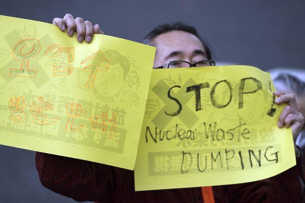 Forti le proteste di Cina, Corea del Sud e soprattutto dei pescatori giapponesi, che temono ripercussioni sulla fauna ittica - Sputnik Italia