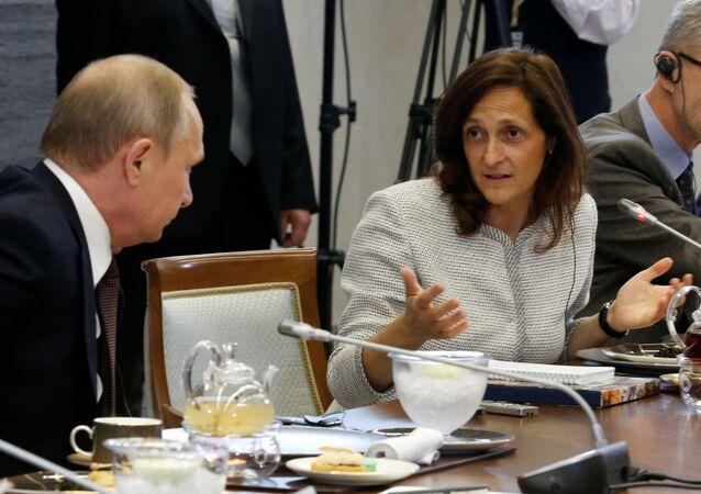 Putin e Alessandra Galloni