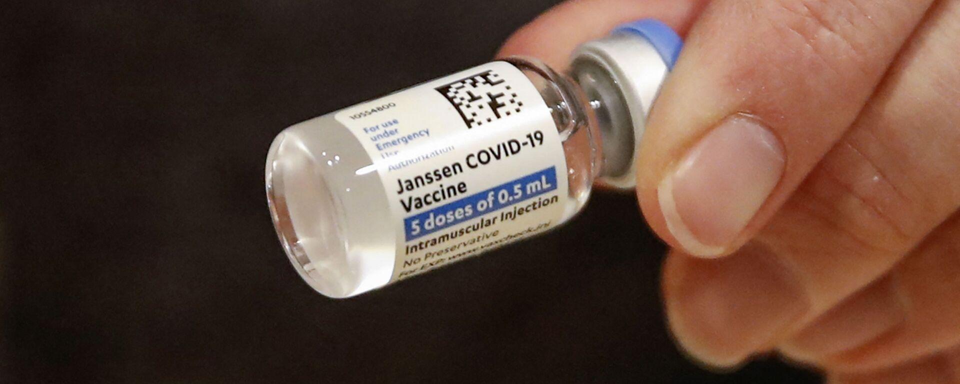 Vaccino anti-Covid Johnson& Johnson - Sputnik Italia, 1920, 04.08.2021