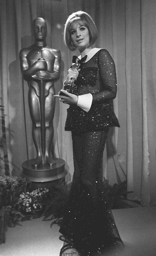Barbra Streisand ha vinto l'Oscar alla miglior attrice per il film Funny Girl il 14 aprile 1969 a Los Angeles, California
