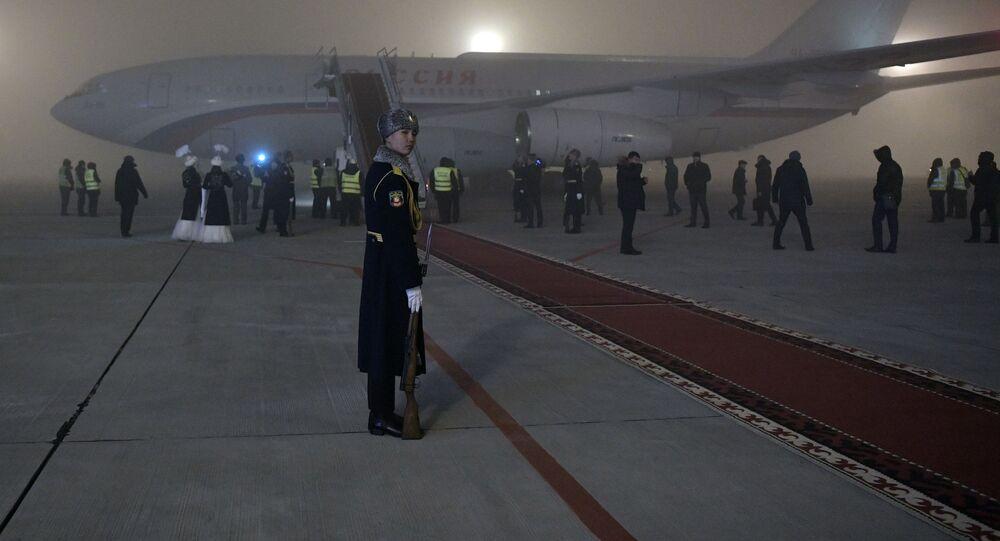 Aereo presidenziale russo (foto d'archivio)