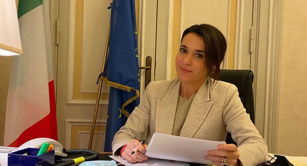 Licia Ronzulli, vicepresidente del gruppo Forza Italia al Senato