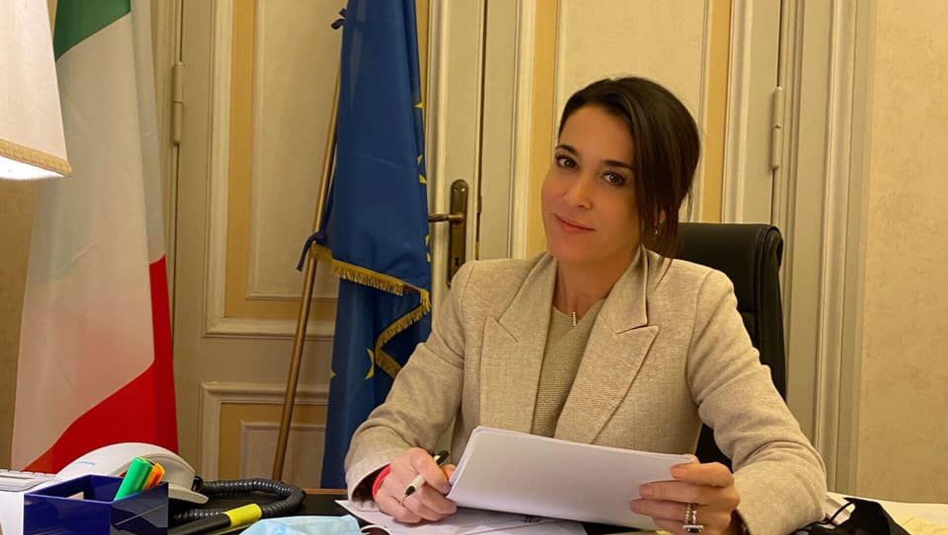 Licia Ronzulli, vicepresidente del gruppo Forza Italia al Senato - Sputnik Italia, 1920, 16.04.2021