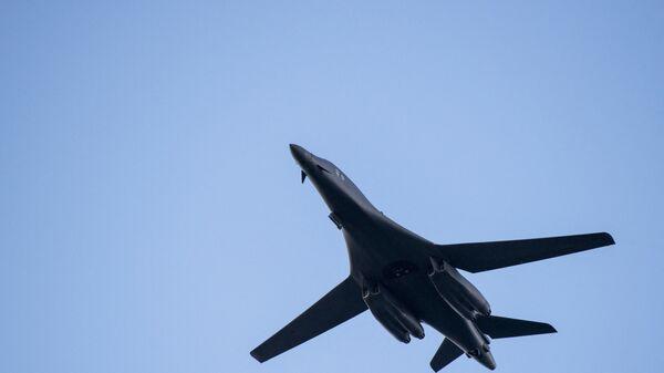 L'aereo bombardiere supersonico Rockwell B-1 Lancer dell'Air Force Usa - Sputnik Italia