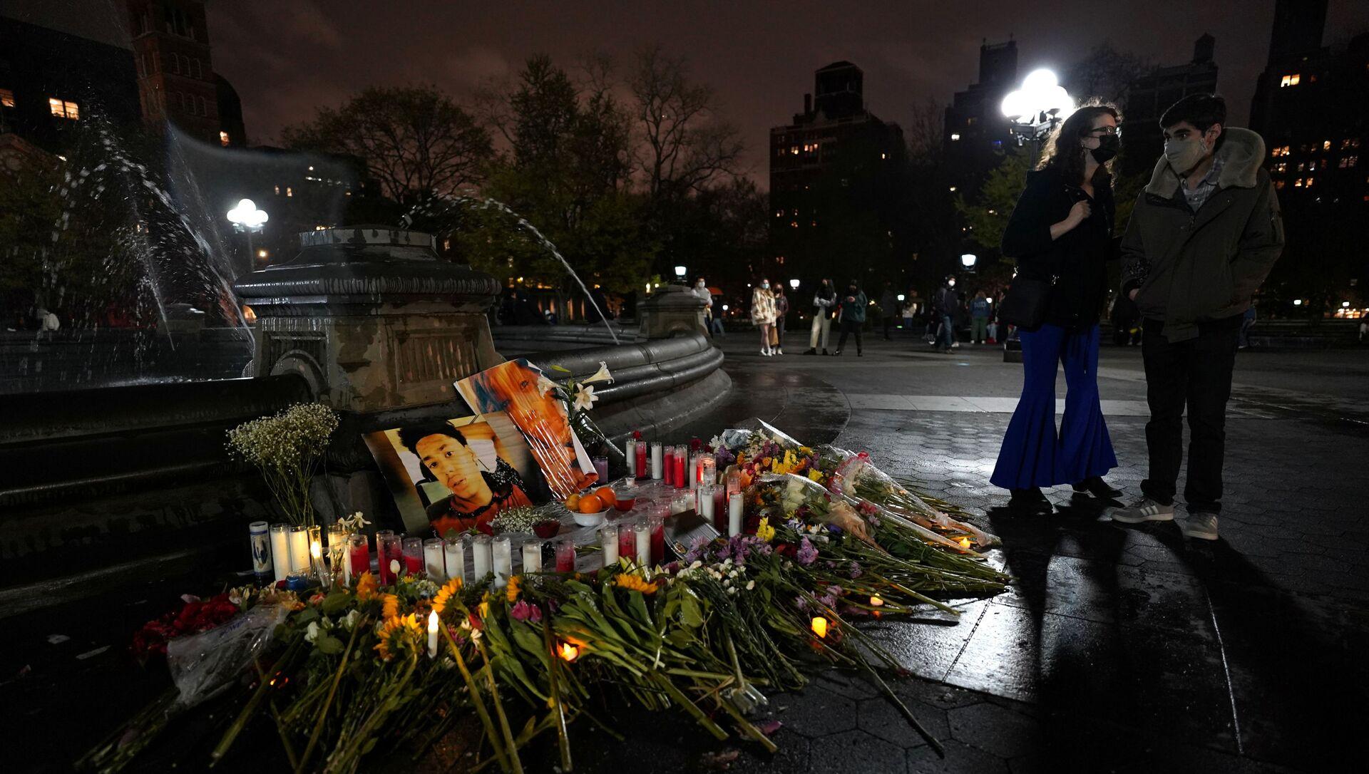 Il memoriale a Daunte Wright e Dominique Lucious a New York - Sputnik Italia, 1920, 17.04.2021