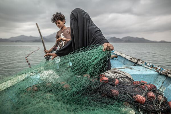 Foto di Yemen: Hunger, Another War Wound del fotografo argentino Pablo Tosco, vincitore del World Press Photo 2021 nella categoria Contemporary Issues - Sputnik Italia