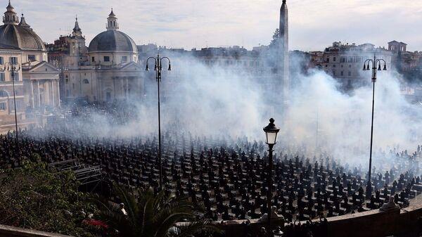 Bauli in piazza del Popolo - Sputnik Italia