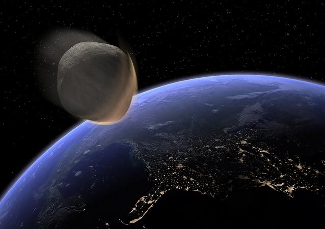Impatto frontale con la Terra