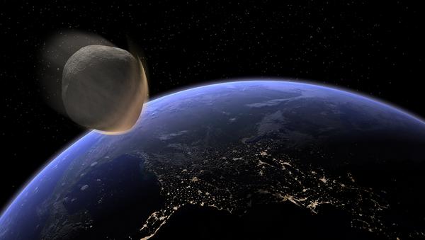 Impatto frontale con la Terra - Sputnik Italia