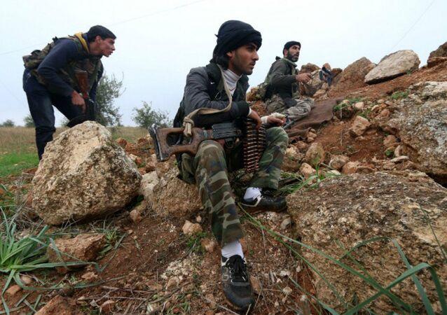 Terroristi siriani (foto d'archivio)