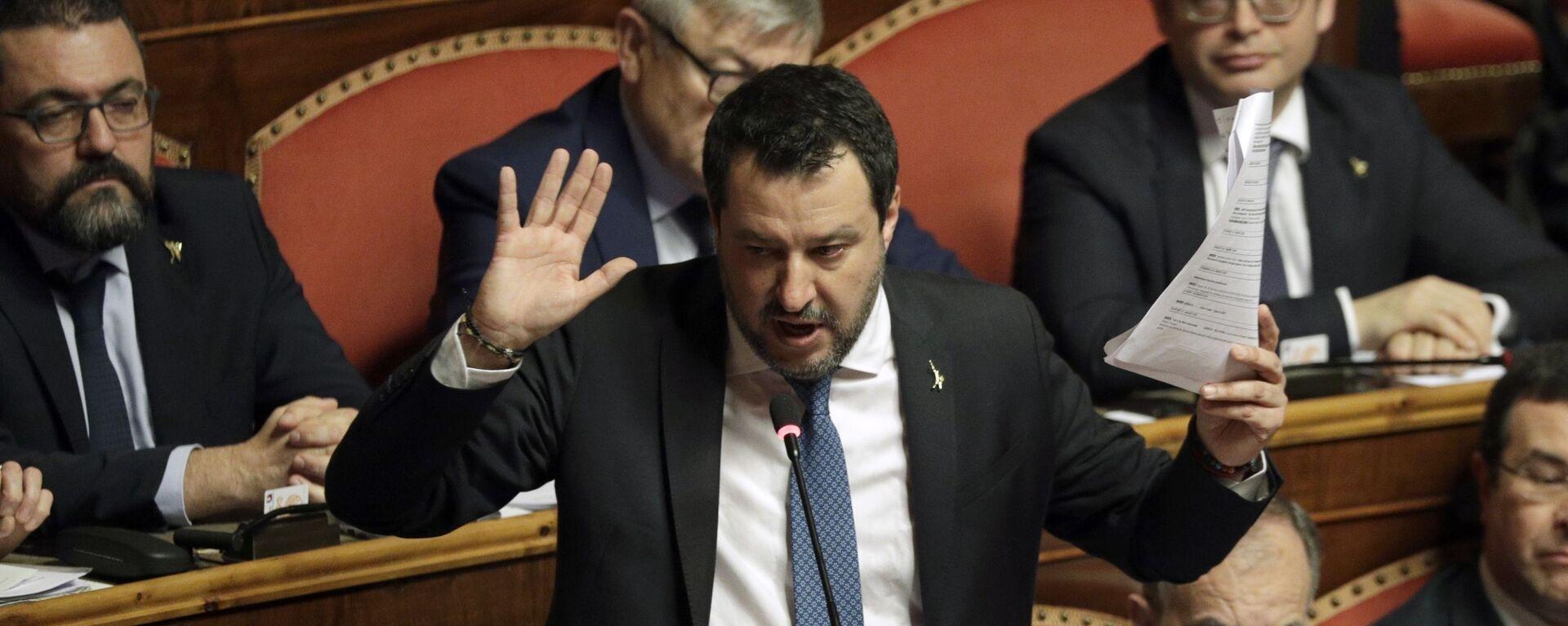 Matteo Salvini  - Sputnik Italia, 1920, 24.07.2021